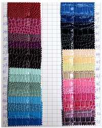 Cuero del faux, cocodrilo del cuero artificial, cuero sintético, tela stoffe del leder, tela brillante, glitter vinilo fa, 1210015