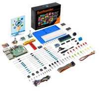 SunFounder proyecto Super Kit V3.0 para Raspberry Pi 3 modelo B, modelo B +, 3B 2B B + A + cero (incluye Raspberry Pi 3B +)