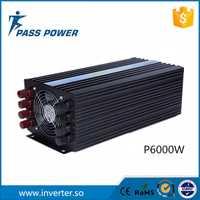 12 V DC a 220 V AC 6kw rejilla solar inversor de energía eólica inversor