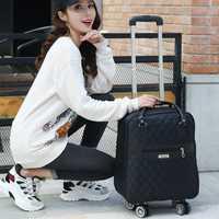 Oxford tela de alta calidad universal de la rueda de carro bolsa unisex de caja carro equipaje hombro internado bolsa 20 pulgadas maleta
