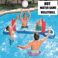 Accesorios de piscina de voleibol de agua caliente Unisex flotador inflable colchón de aire juego de agua juguetes para niños pelota de diversión de agua
