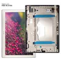 Para Lenovo Tab 4 10 más TB-X704 TB-X704L TB X704 Tab4-x704 pantalla LCD digitalizador Panel táctil Panel de cristal + marco
