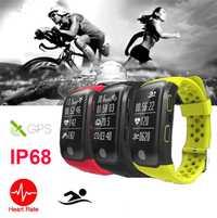 Fitness moniteur de fréquence cardiaque hommes sport montres polaires GPS course cyclisme escalade montres de course en plein air