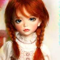 Nueva llegada 1/6 BJD muñeca BJD/SD de Lonnie con Fleckles muñeca para bebé niña Regalo de Cumpleaños envío gratis