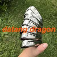 2018 datang dragon golf hierros nuevos M3 planchas (4 5 5 5 6 6 7 8 9 P) 7 piezas de hierro fundido con KBS TOUR 90 eje de acero de los clubes de golf