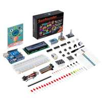 SunFounder proyecto súper arranque Kit para Arduino UNO R3 Diy electrónica Kit para Arduino UNO con manual de instrucciones