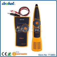Red LAN cable tester Alambres Tracker