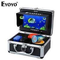 Eyoyo EF07B 1000tvl buscador de peces CÁMARA DE PESCA subacuática hd cámara de vídeo 7