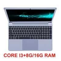 Core i3 portátil de 15,6 pulgadas con 8G/16G RAM 256G/512G/1 TB SSD portátiles de juegos computadora Windows 10 OS Notebook con retroiluminación Ultrabook