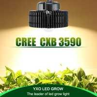 100 w CREE CXB3590 COB plein spectre led élèvent la lumière pour la serre de culture D'intérieur hydroponique De tente commerciale des plantes médicinales croissance