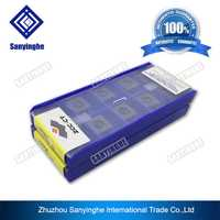 Envío gratis de alta calidad YBG205 SPGT110408-PM ZCC tomografía cnc insertos de carburo de herramienta de torno perforación inserciones cnc hoja