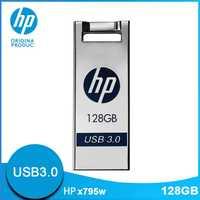 Original Hewlett Packard unidades Flash Usb 128 GB USB3.0 Metal Cle USB X795W Dropship Mini lindo de dibujos animados DIY logotipo pendrive