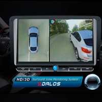SZDALOS Original Newst HD 3D 360 sistema de visión envolvente soporte de conducción Bird View Panorama System 4 cámara de coche P 1080 p DVR g-sensor