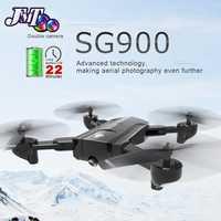 SG900 Drone Cámara Dual HD 720 p profesión FPV Wifi RC Drone punto fijo de altitud Me sigue RC Quadcopter