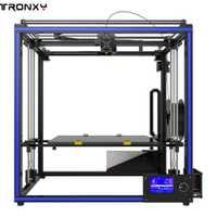 Tronxy X5S-400 400x400x400mm de alta precisión rápida asamblea de pantalla LCD 3D de perfil de aluminio durable usando -resistencia