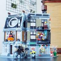 Super Héroes Sanctum Sanctorum Showdow vengadores infinito guerra bloques de construcción Kit película clásico juguetes Marvel Compatible Legoe