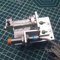 1 Unidades aluminio prusa I3 V6 Bowden hotend x carro Kit de montaje con sensor de proximidad inductivo 1.75/3mm todo metal actualización