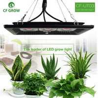 CF Led crecer luz Ultra-delgada impermeable completo espectro de efecto invernadero hidroponía para vegetales y Bloom interior planta