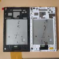 Para Lenovo Tab 4 8,0 TB-8504F TB-8504X 8504 cristal digitalizador de pantalla táctil + ensamblaje de pantalla LCD con piezas de marco blanco