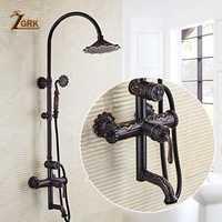 ZGRK ducha grifos ducha mezclador grifos rociador superior lluvia grifo lavado ducha antiguo sistema