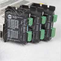 Calidad superior! Ley 3 eje Motores paso a paso conductor dm420 36 V 1.7a 128 micro + tablero del desbloqueo del CNC para nema11 16 17 motores paso a paso