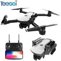 Teeggi CG006 Drone con cámara 1080 p-amplio ángulo de 5G Wifi FPV GPS posicionamiento Me sigue altitud RC Quadcopter drone RTF niños