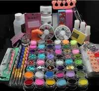 Poder acrílico UV gel Manicura Decoración Cepillos conjunto Herramientas pluma profesional de la pintura para las uñas falsas Uñas de gel polaco