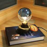Levitación magnética inalámbrico bombilla Led innovador escritorio iluminación Edison libro levitación magnética bombilla ojo protector 15