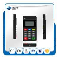 Terminal de paiement Mobile PCI + EMV certifié Bluetooth MPOS avec clavier HTY711