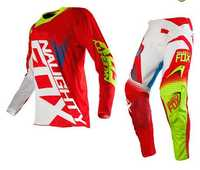 2017 travieso Fox MX SHIV 360 Motocross Set off-road racing suit Motocross Jersey y pantalones