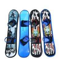 Deportes al aire libre 95 110 cm 128 plástico Freestyle Tabla de dos vías Snow Grass Sand Board para niños y adultos