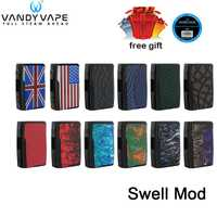 Original Vandy Vape bien Mod 188 W caja mod alimentado por dual 18650 ajuste bien tanque resistente al agua PCBA E -cigarrillo kit