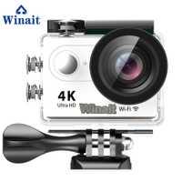 Winait mini deportes DV 170D pez utlra HD 4 K Cámara WiFi incorporado 30 m subacuática lapso Android Y ios