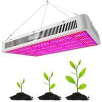1600 W 1200 W 800 W 400 W 200 W lleno espectro LED crecer luz para hidroponía de efecto invernadero interior planta flor verduras hierbas