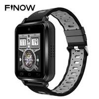2018 4G inteligente reloj de Finow Q1 Pro IP67 impermeable Wifi dispositivos 2 M Cámara 1 GB/8 GB Android 6,0 de smartwatch