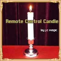 Control remoto vela Trucos de magia fuego Magie mago bar etapa ilusiones gimmick props Accesorios mentalismo comedia