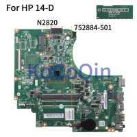 KoCoQin placa base para portátil HP 14-D 240 G2 246 G2 Core N2820 placa base 752884-001 752884-501 010194Q00 SR1SG