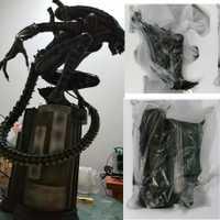 Alta calidad escala 1:4 alienígena AVP del depredador Guerrero Maquett modelo de resina estatua refundición