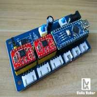 Bonbox Tablero de control DIY máquina de grabado láser micro 2 ejes stepper motor drive control board grabado máquina Accesorios