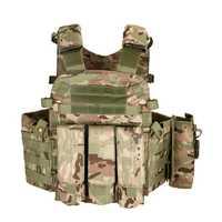 Campo Airsoft Wargame armadura de Protección corporal multifuncional táctico chaleco entrenamiento al aire libre caza bolsillo combate chaleco Tops