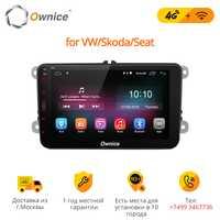 Ownice K1 Android 8,1 coche DVD GPS radio estéreo reproductor para Volkswagen VW golf 6 touran passat sharan Touran polo tiguan seat leon