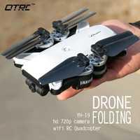 YH-19 720 p Cámara Drones Auto Mini plegable RC Drone RC Quadcopter RTF 2MP WiFi Cámara FPV altitud del E58