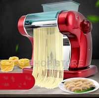 Prensa eléctrica para Fideos, máquina de espaguetis para hacer Pasta, Comercial cortador de masa de acero inoxidable, Dumplings, rodillo para colgar fideos