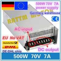¡500 W 70 V 7A interruptor fuente de alimentación! Router CNC de salida única fuente de alimentación 500 W 70 W V espuma de corte grabador láser de Plasma