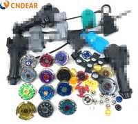 Giro superior Metal fusión 4D Freies fidget spinner (12 spin top + 6 lanzadores + 3 apretones + más más de 30 espaà A) juguetes de los niños