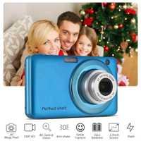 24MP foto batería de litio de alta definición grabación de vídeo cámara Digital Zoom óptico al aire libre compacto portátil niños detección de la cara