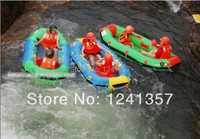 Pvc bote de pesca mini Bote individual 1,4 metros engrosamiento barco de pesca almohada drifting barco pirog