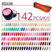 ROSALIND de uñas de Gel polaco pintura de uñas de Gel polaco 142 unids/set para arte de uñas profesional manicura uñas diseño de patrón de Dotting