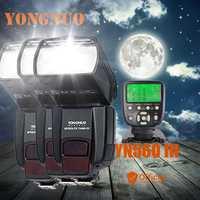 3 * Yongnuo YN560 III 2.4g manual inalámbrico flash speedlite + TRANSMISOR para Canon EOS 1Ds 5D 1D mark III 50D 60D 77D 7D