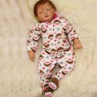 OtardDolls Bebe bebé Reborn muñeca 22 pulgadas 55 cm de vinilo de silicona bebé muñecas Adorable peluche Niño para regalo rápido envío